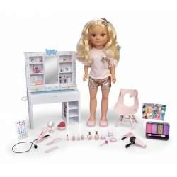 Muñeca Nancy Un Día De Belleza 43 Cm Con Un Tocador Lleno De