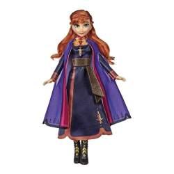 Muñeca Princesa Frozen 2 Anna Cantarina 30 Cm