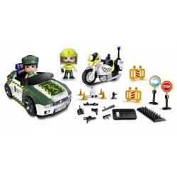 Pinypon Action Set De Guardia Civil Con Coche, Moto Y Un Mon