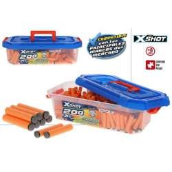 Dardos X-Shot 200 Unds En Caja De Plastico