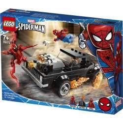 Lego Super Heroes Spider-Man Y El Motorista Fantasma Vs. Ca