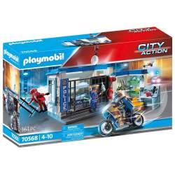 Playmobil City Action Policía: Escape De La Prisión