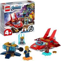 Lego Super Heroes Iron Man Y Thanos Con Vehiculos