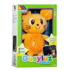 Proyector Gusy Luz Friends Raton 24 Cm Con Luces Y Sonidos