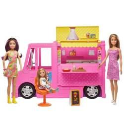 Restaurante De Barbie Y Sus Hermanas Incluye 3 Muñecas Y Mas