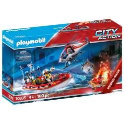 Playmobil City Action Misión Rescate
