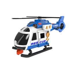Helicoptero De Rescate 42 Cm Con Luz Y Sonidos
