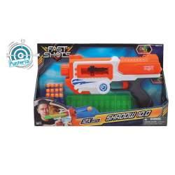 Pistola Lanzadardos Con Cargador Y 12 Dardos 39X22'5x7 Cm