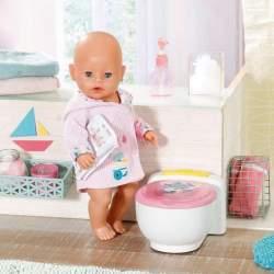 Orinal Baby Born Baño Poo Poo Con Sonido Y Purpurina 43Cm