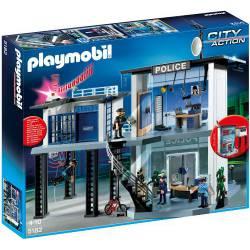 Comisaría de Policía con Alarma Playmobil