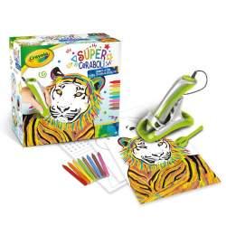 Súper Ceraboli Crayola Tiger ¡Derrite La Cera Y Crea Tus Dib