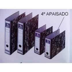 ARCHIVADOR PALANCA A-Z 4º APAISADO DOHE ANCHO JASPEADO C/CAJA