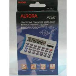 CALCULADORA AURORA HC-262 12 DIGITOS