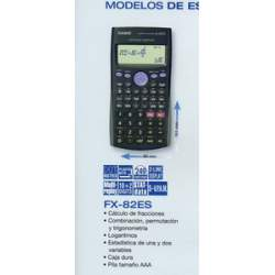 CALCULADORA CASIO FX 82 ES PLUS CIENTIFICA NATURAL DISPLAY 252F