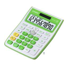 CALCULADORA CASIO MS 10VC-GN 10 DIGITOS VERDE LIMA