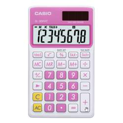 CALCULADORA CASIO SL 300VC BE 8 DIGITOS ROSA DULCE