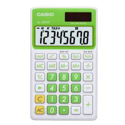 CALCULADORA CASIO SL 300VC BE 8 DIGITOS VERDE HOJA