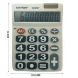 CALCULADORA CATIGA TECLAS GIGANTES 8 DIGITOS CD-8137