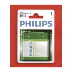 PILA PHILIPS LONGLIFE 4,5V 3R12