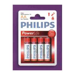 PILA PHILIPS POWERLIFE AA, LR6 4U
