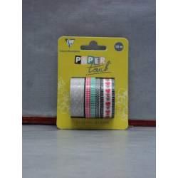 CINTA ADHESIVA CLAIREFONTAINE ESPECIAL SCRAPBOOKING PACK 3U 5*10M Y 2U 15*10M 211422
