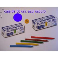 CERAS JOVI PLASTICOLOR BODY GRANEL AZUL OSCURO C/50