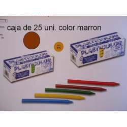 CERAS JOVI PLASTICOLOR BODY GRANEL MARRON C/25