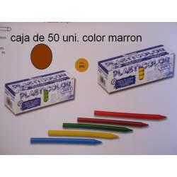 CERAS JOVI PLASTICOLOR BODY GRANEL MARRON CLARO C/50