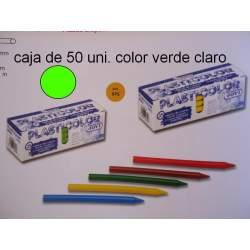 CERAS JOVI PLASTICOLOR BODY GRANEL VERDE CLARO C/50