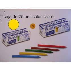 CERAS JOVI PLASTICOLOR GRANEL CARNE C/25