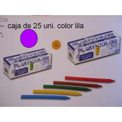 CERAS JOVI PLASTICOLOR GRANEL LILA C/25