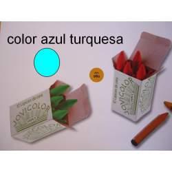 CERAS JOVICOLOR GRANEL AZUL TURQUESA C/12