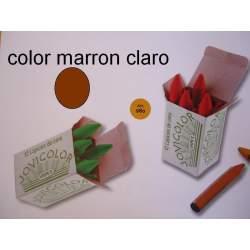 CERAS JOVICOLOR GRANEL MARRON CLARO C/12