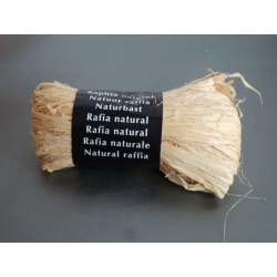 CINTA RAFIA NATURAL MAILDOR MADEJA 50G SIN COLOR 196071 0071