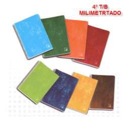 CUADERNO TB 4º 80H PACSA SCHOOL MILIMETRADO 16431