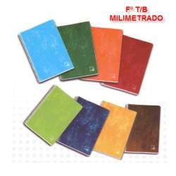 CUADERNO TB FOLIO 80H PACSA SCHOOL MILIMETRADO 16421