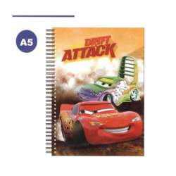 CUADERNO DEC 4º ESPIRAL CARS TE 70H AS2000