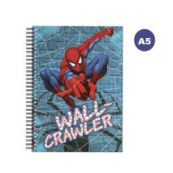 CUADERNO DEC 4º ESPIRAL SPIDERMAN TE 70H AS2004