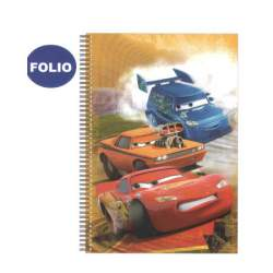 CUADERNO DEC FL ESPIRAL CARS TE 100H AS2030