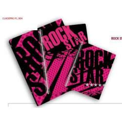 CUADERNO DEC FL GABOL 10 ROCK STAR 5*5 206351