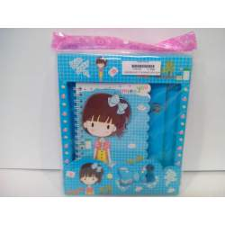 CUADERNO SORT 8º DECORADO GIRLS RELIEVE 1446