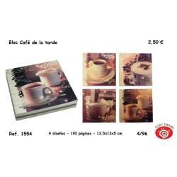 CUADERNO SORT CAFFE 14*14 1554