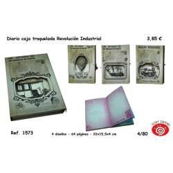 DIARIO SORT REVOLUCION INDUSTRIAL C/CAJA TROQUELADA Y CANDADO 1573