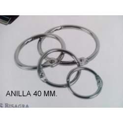 ANILLA 40MM C/25U