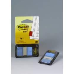 BANDERITA POST-IT 680 25*43MM AZUL BRILLANTE