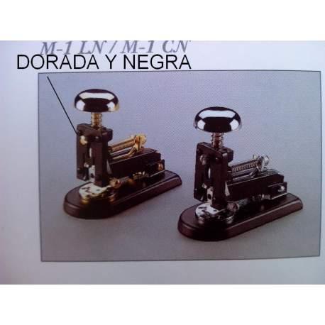 GRAPADORA EL CASCO M-1 PINTADA DORADA NEGRA