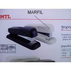 GRAPADORA MTL MEDIANA METAL MARFIL 79040