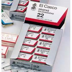 GRAPAS EL CASCO 22 CAJITA 1000 APROX