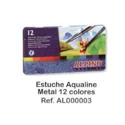 LAPIZ ALPINO ACUARELABLE METAL 12C REF 3