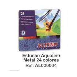 LAPIZ ALPINO ACUARELABLE METAL 24C REF 4